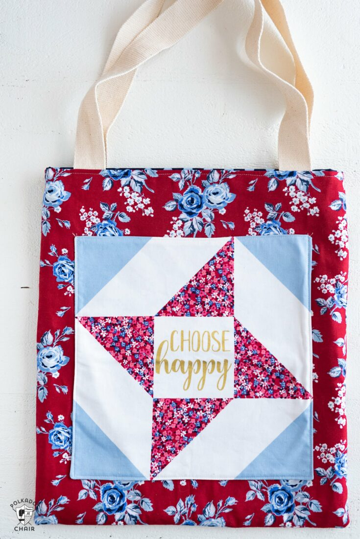 How to sew a Simple Tote Bag with Melissa Mortenson | Fat Quarter Shop