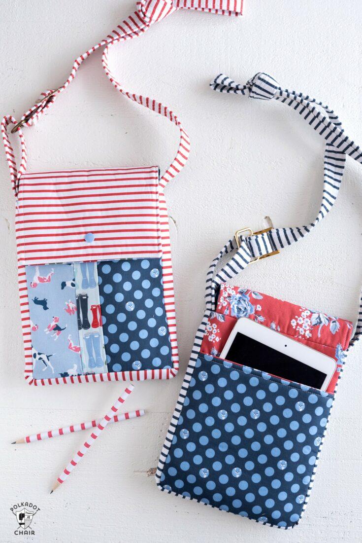 June Bag, Mini Messenger Bag Sewing Pattern | Digital PDF Pattern