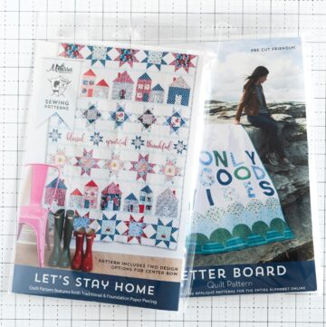 New Sewing & Quilting Patterns Available in Print