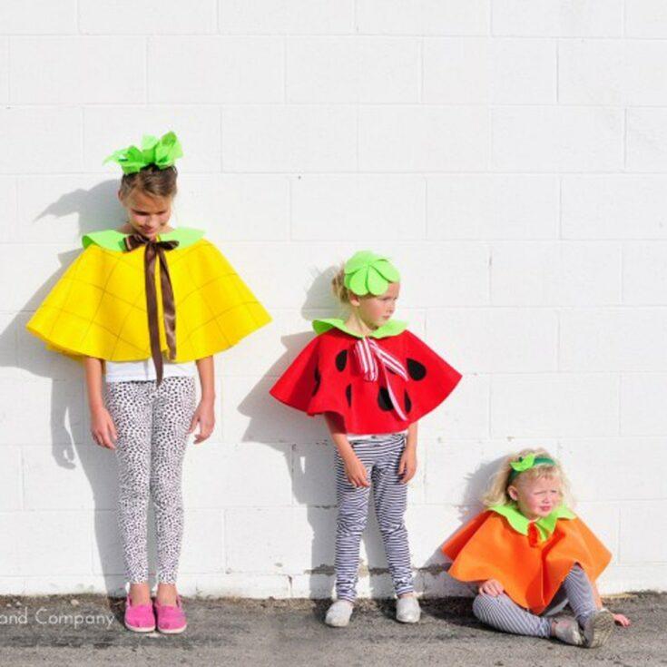 Fruit Costumes Tutorial