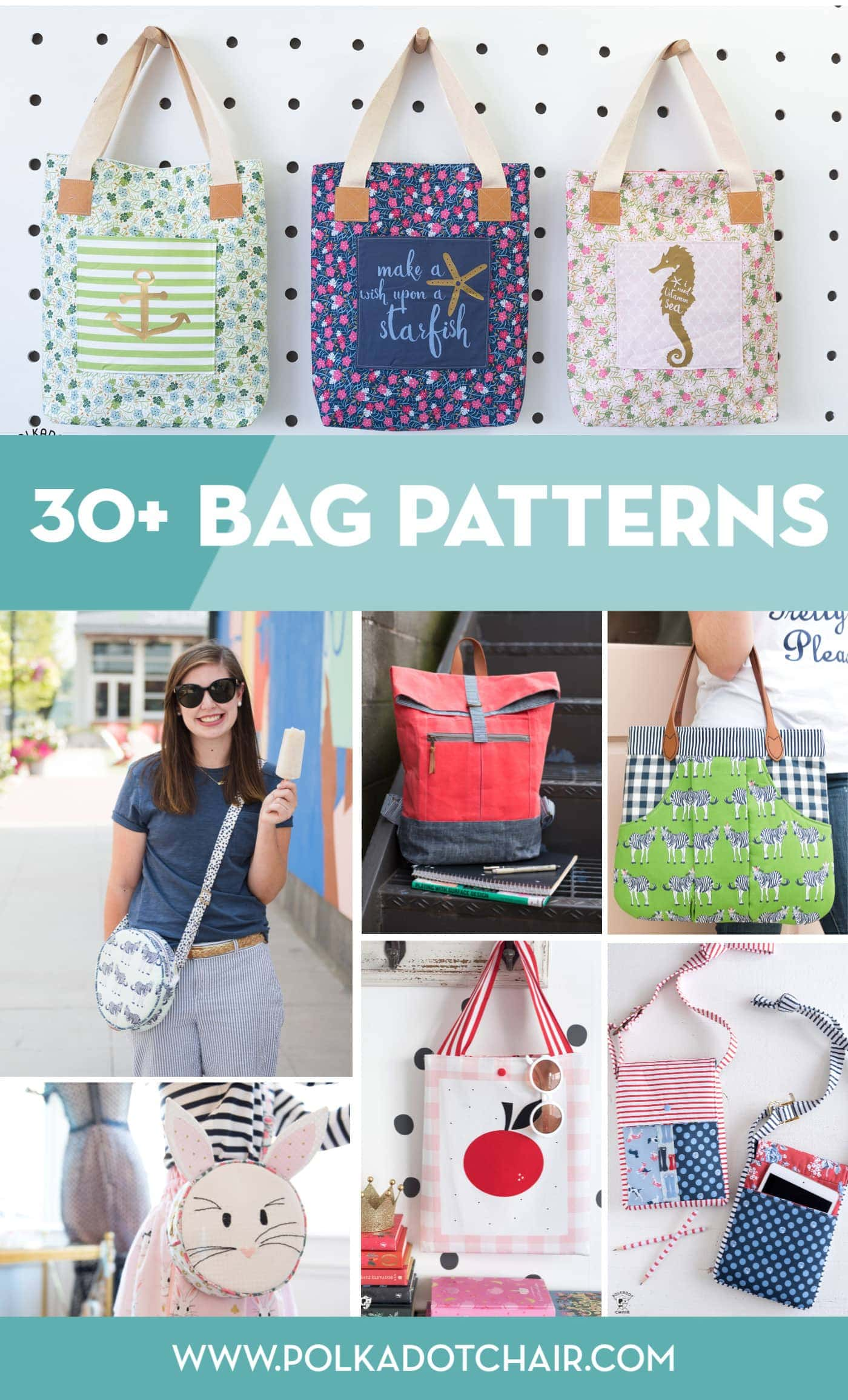 30 Of My Favorite Bag Sewing Patterns