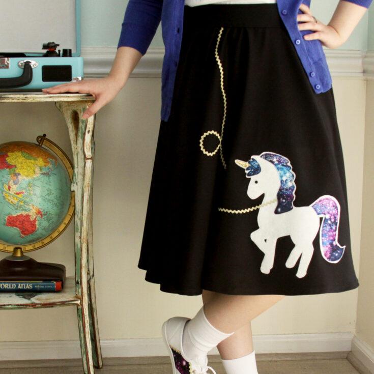 Cute Fifties Unicorn Costume -