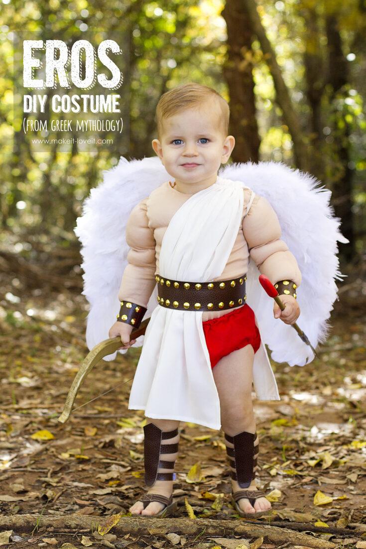 DIY Greek God Costume: EROS | Make It and Love It