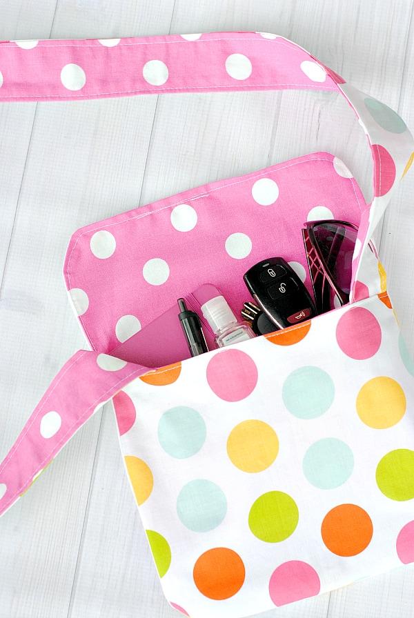 Kid's Mini Messenger Bag Pattern