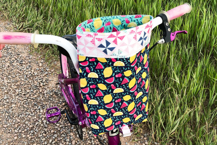DIY Bike Handlebar Bag Pattern