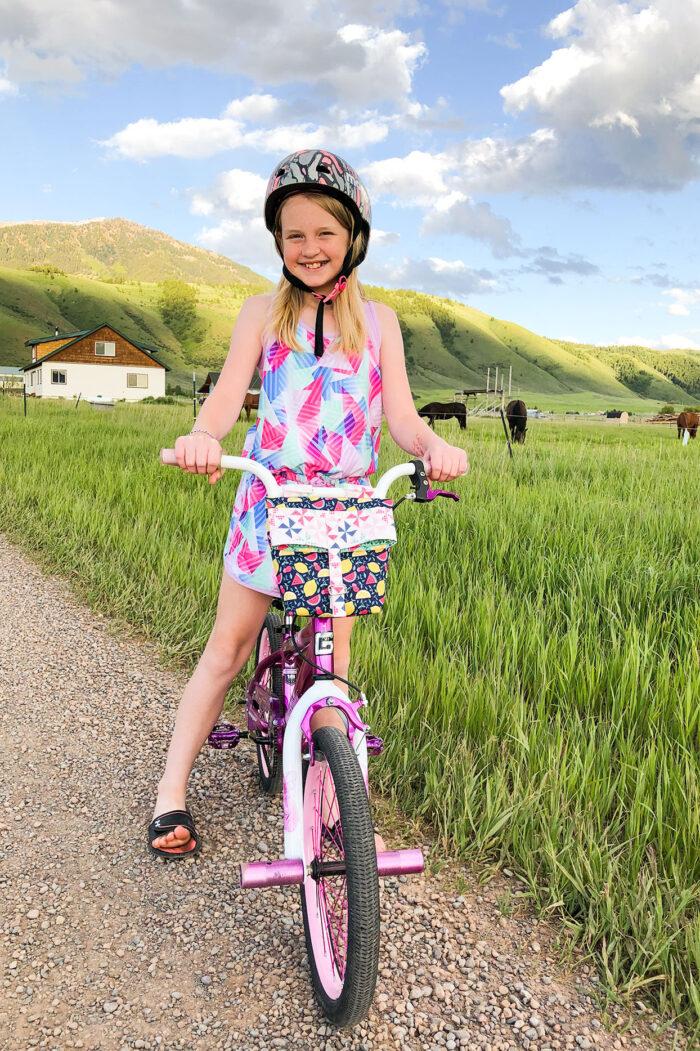 Diy Bike Handlebar Bag Pattern The Polka Dot Chair