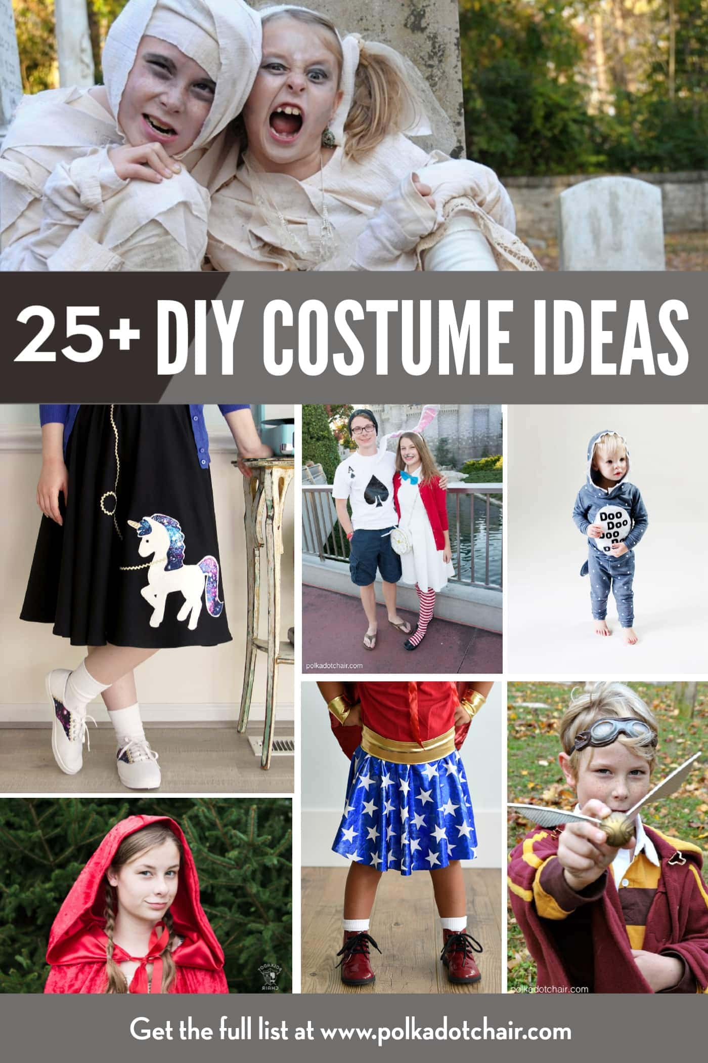 25 Costumes For Kids That You Can Easily Make Yourself Polka Dot Chair