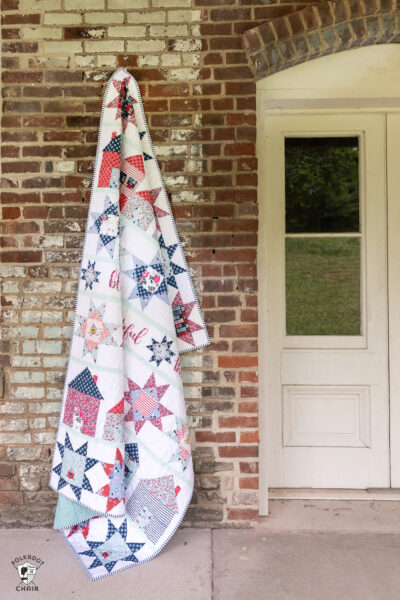 Let's Stay Home Quilt from Summer Quilt Along