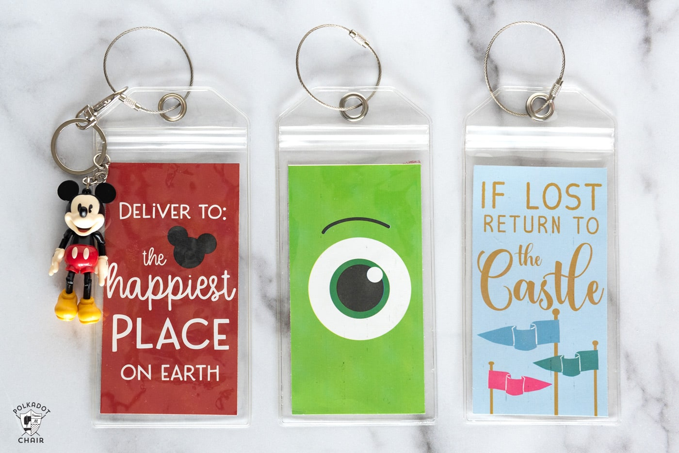 photo about Disney Luggage Tags Printable known as Printable Bags Tags suitable for Your Disney Family vacation
