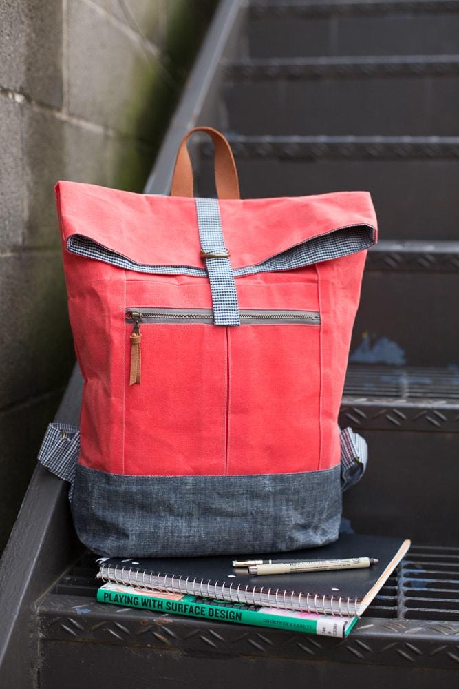 Range Backpack PDF Pattern - Noodlehead
