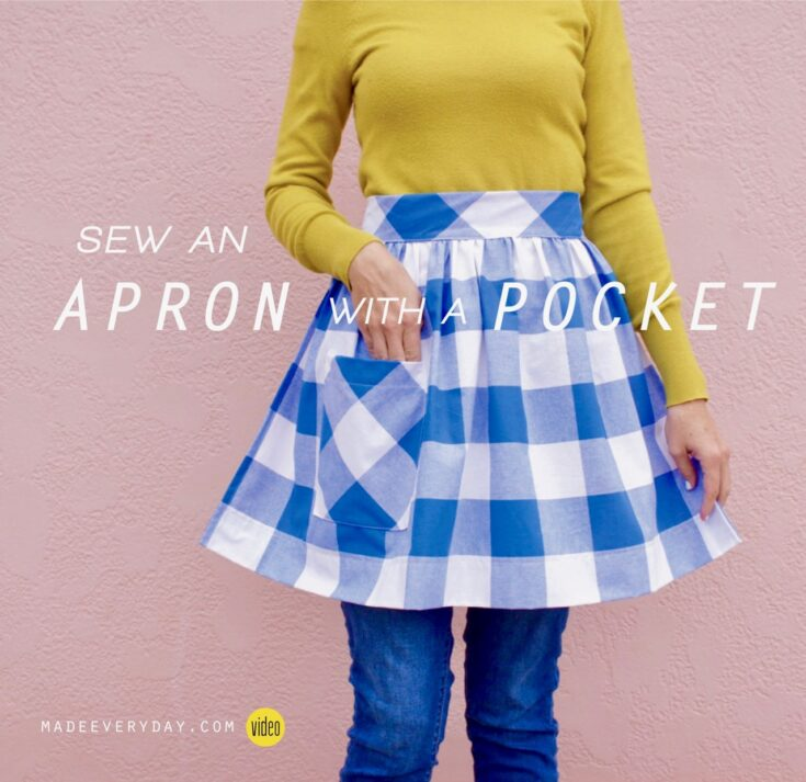 TUTORIAL: Apron with a Pocket