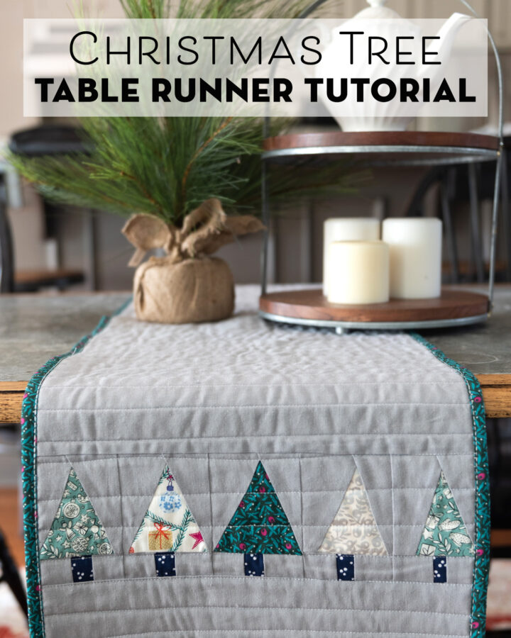 Liberty of London Christmas Table Runner on table