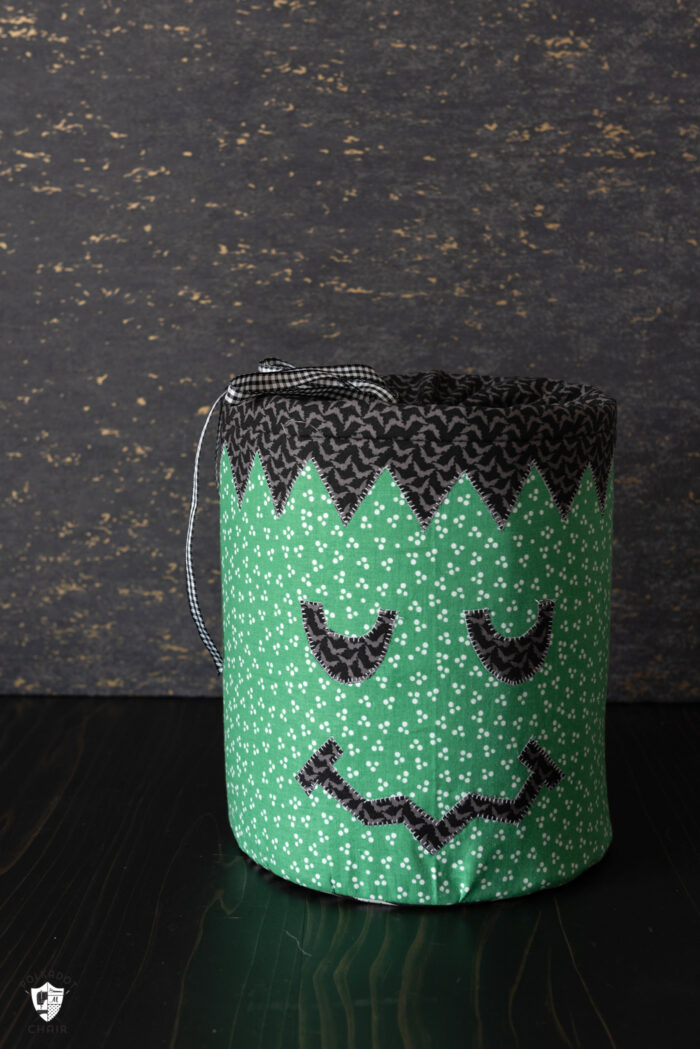 Frankenstein Halloween Bucket