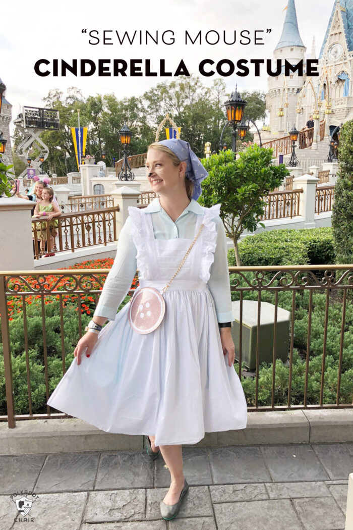 Cinderella DIY Costume Sewing Mouse