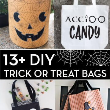 DIY Trick or Treat Bag Collage Image