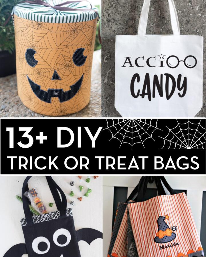 DIY Trick or Treat Bag Collage Image