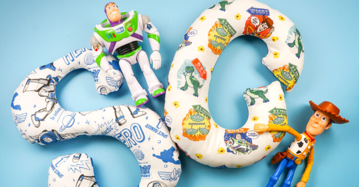 Easy-Sew Toy Story Alphabet Stuffies with the Cricut Maker
