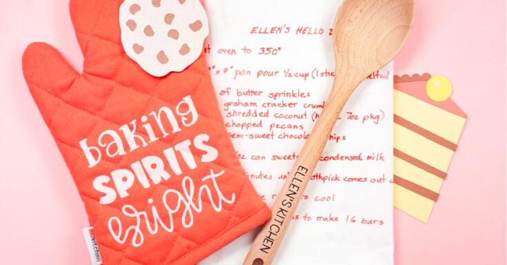 DIY Baking Set with the Cricut