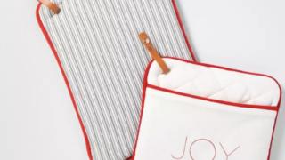 Potholders Joy & Stripes