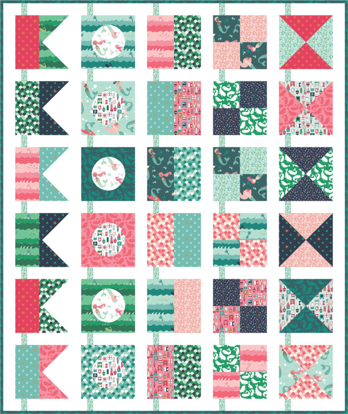 sketch of a quilt pattern