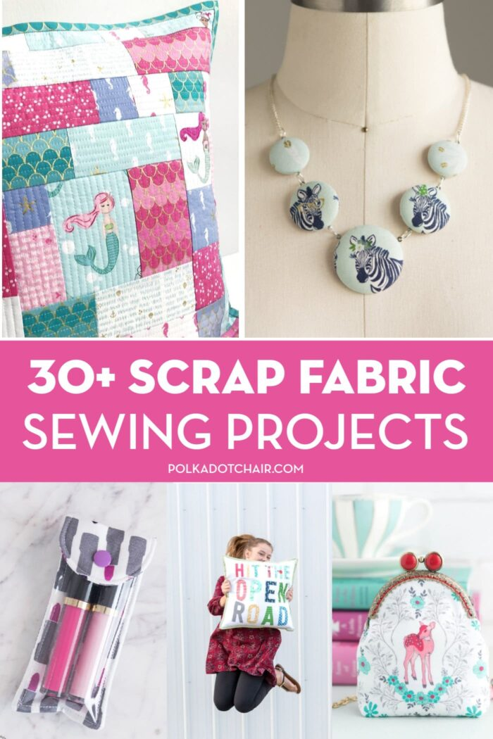 30 Things To Make With Fabric Scraps The Polka Dot Chair
