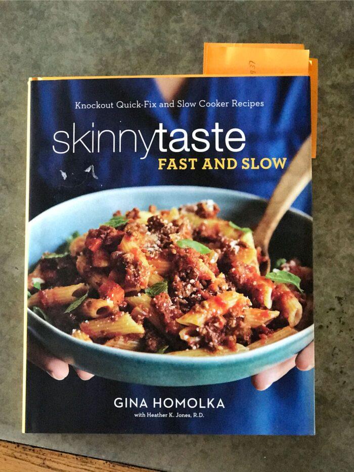 cover of skinny taste cookbook