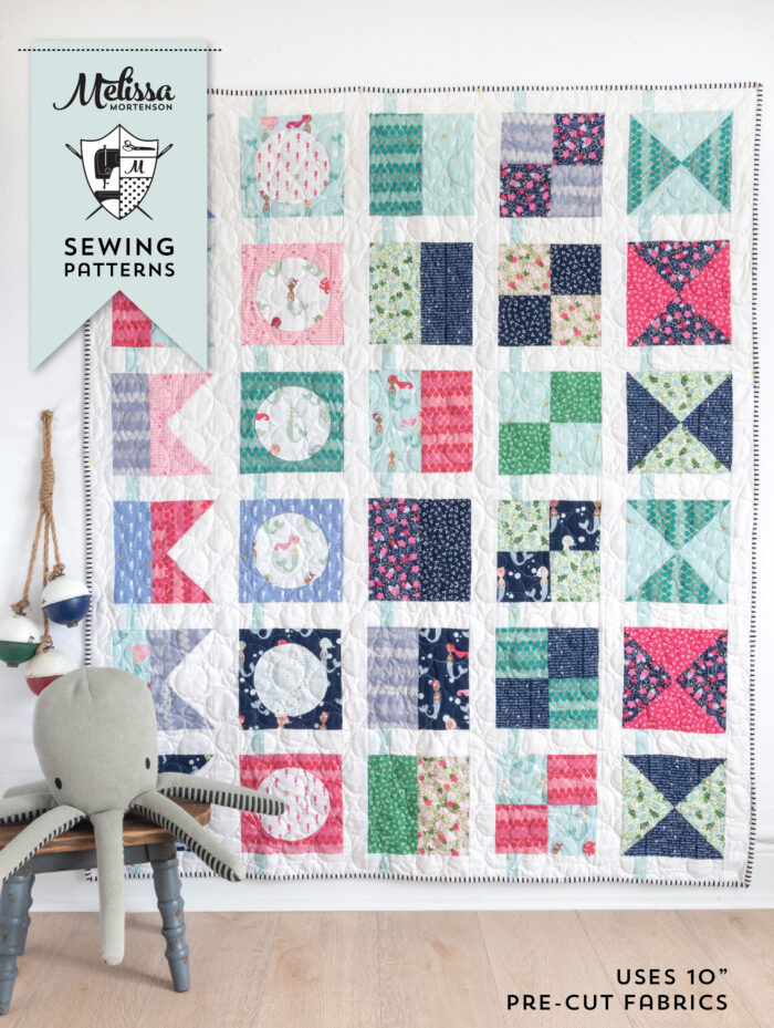 pattern cover for seas the day quilt pattern