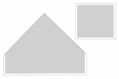 black and white illustration of construction steps of toy storage bag.