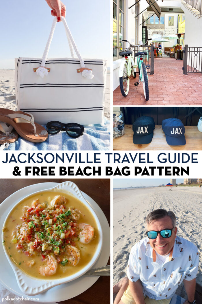collage image of things to do in jacksonville with title text