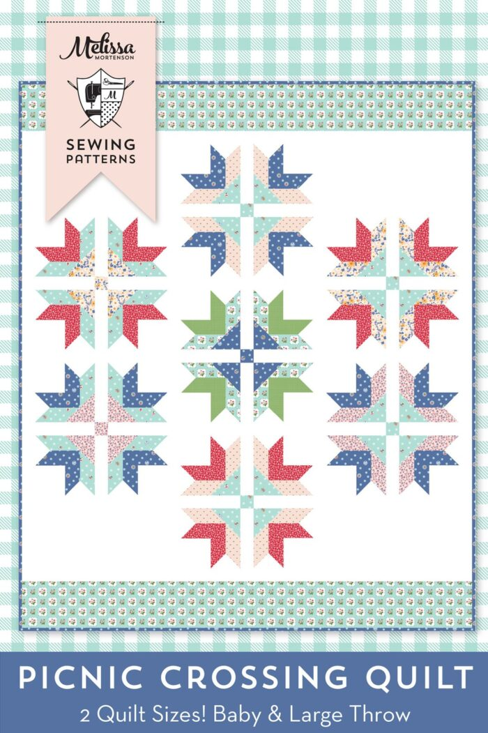 cover of picnic crossing quilt