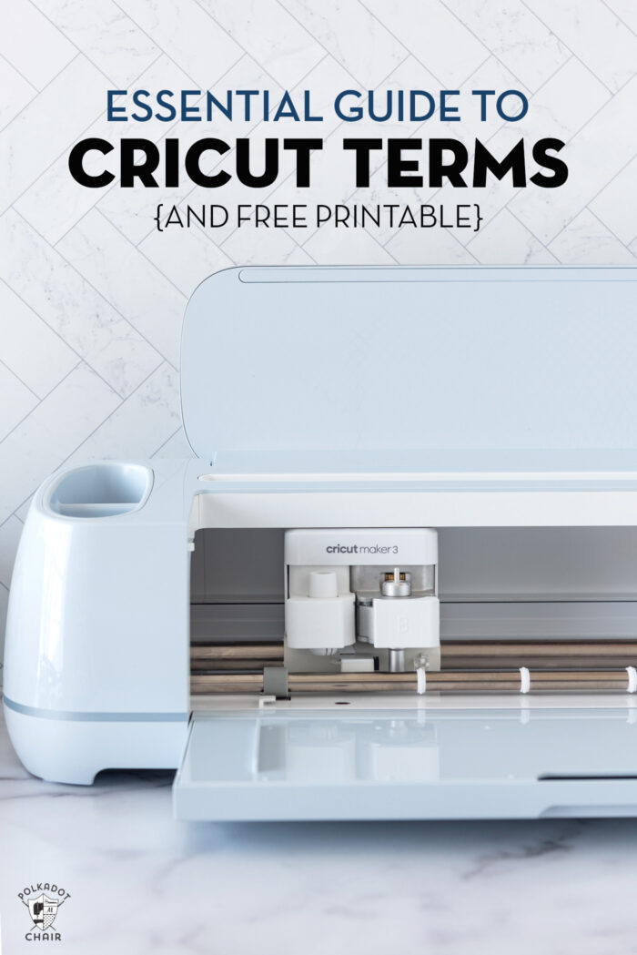 light blue cricut maker 3 machine on white countertop