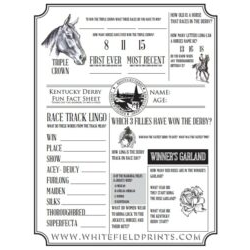 Derby Trivia Sheet & Answers