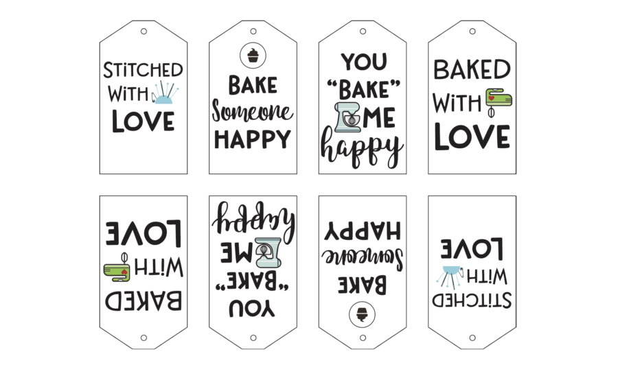 Printable Baking Gift Tags