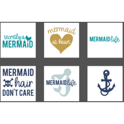 Mermaid SVG Bundle