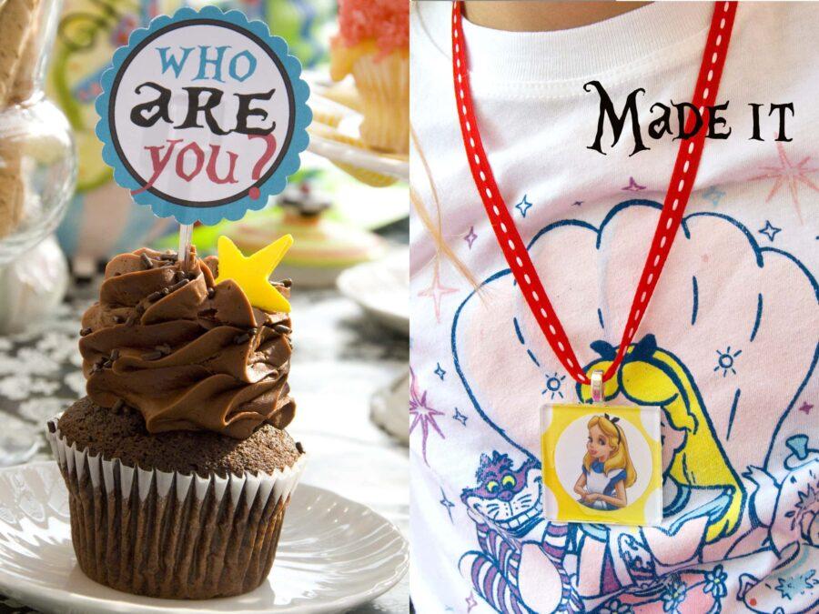 Alice Cupcake Picks
