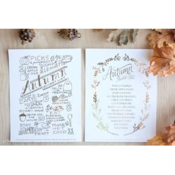 Autumn Bucket List; All Versions
