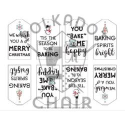 Christmas Baking Tags