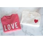 Heart & Love Applique Template