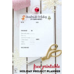Christmas Project Planner Printable
