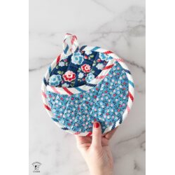 Round Potholder Template