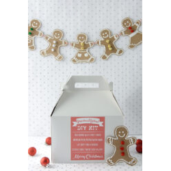 Gingerbread Kit Label