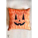 Jack O Lantern Pillow Applique