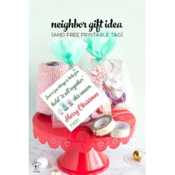 Tape Gift Christmas Tag Printables