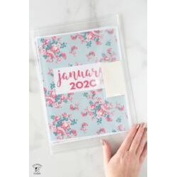 January Project Planner Pages