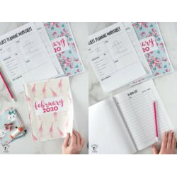 February & March Planner Pages