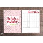 2020 Christmas Planner Printable