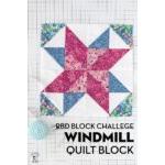 Windmill Quilt Block RBD