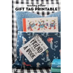 Reading or Journal Pillow Gift Tags