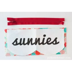 Sunnies Sunglasses Case Pattern